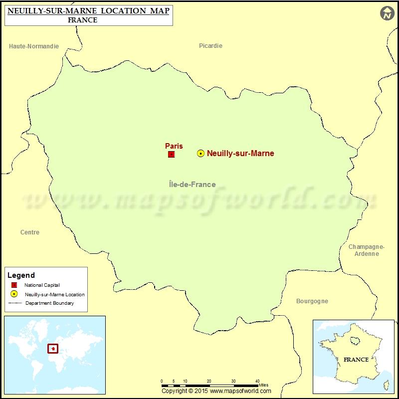 Where is Neuilly-sur-Seine