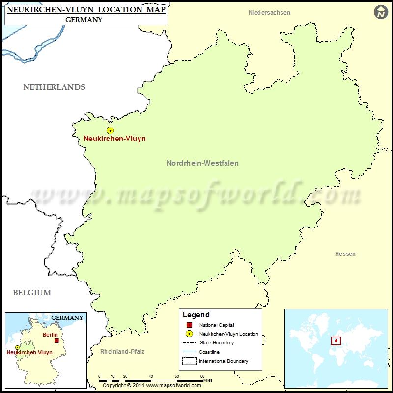 Where is Neukirchen-Vluyn