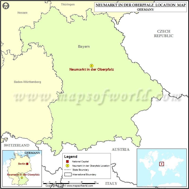 Where is Neumarkt in der Oberpfalz