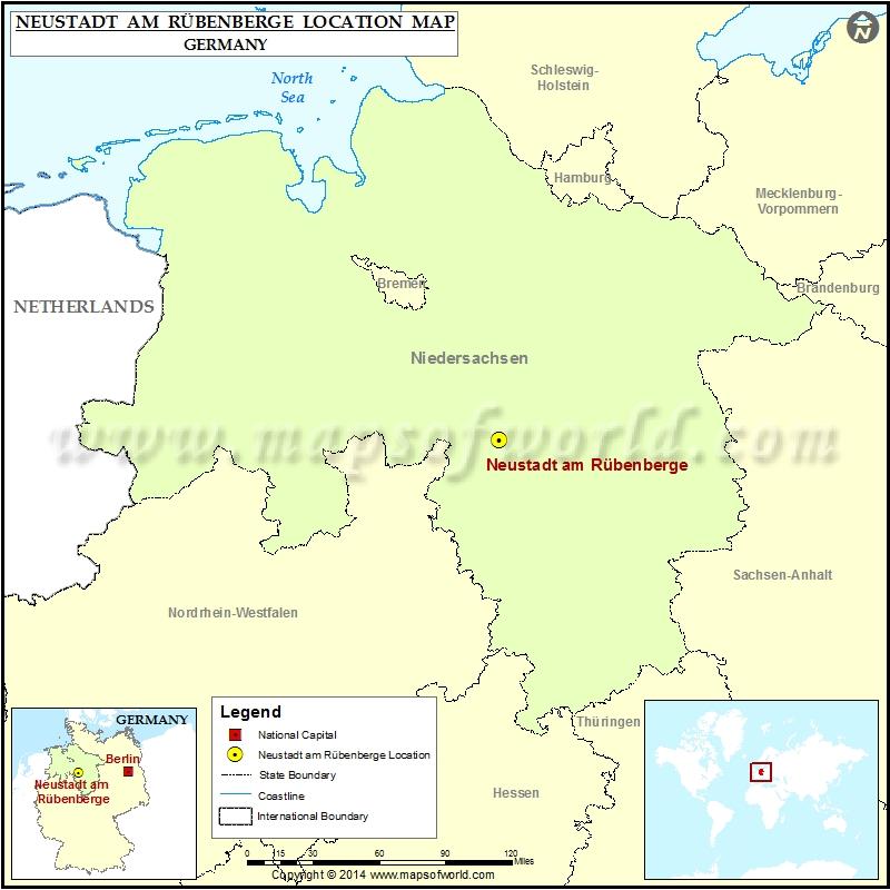 Where is Neustadt am Rubenberge