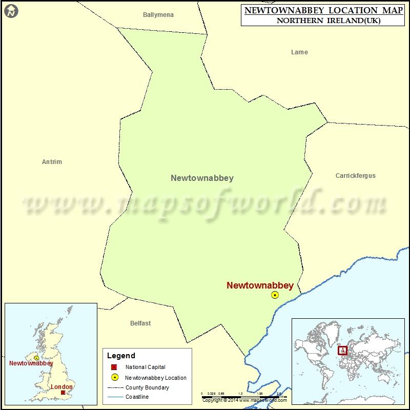 Where is Newtownabbey
