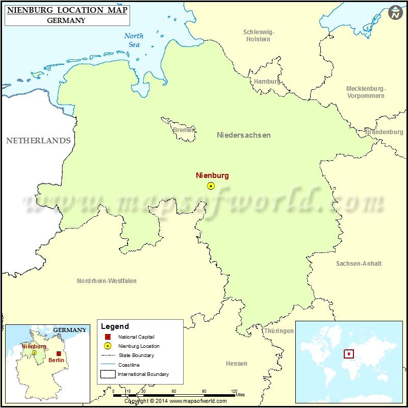 Where is Nienburg