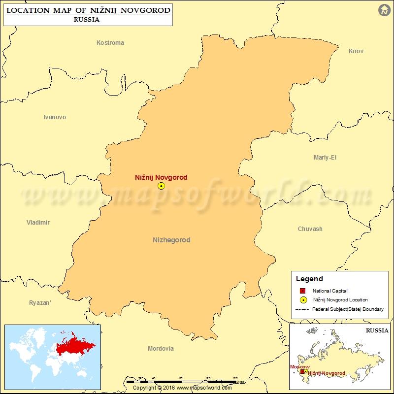 Where is Niznij Novgorod