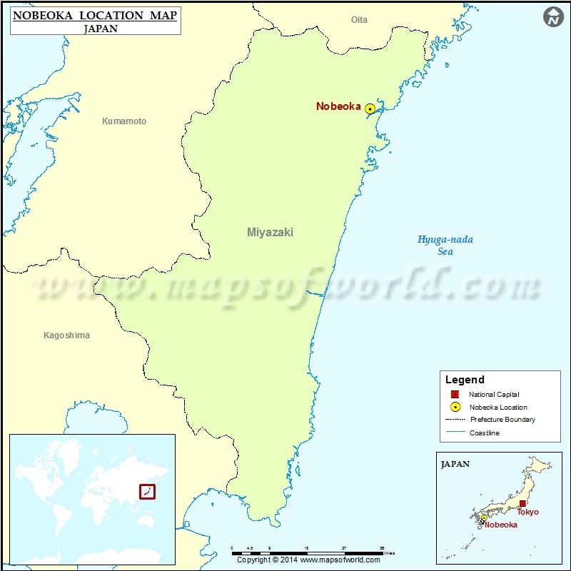 Where is Nobeoka
