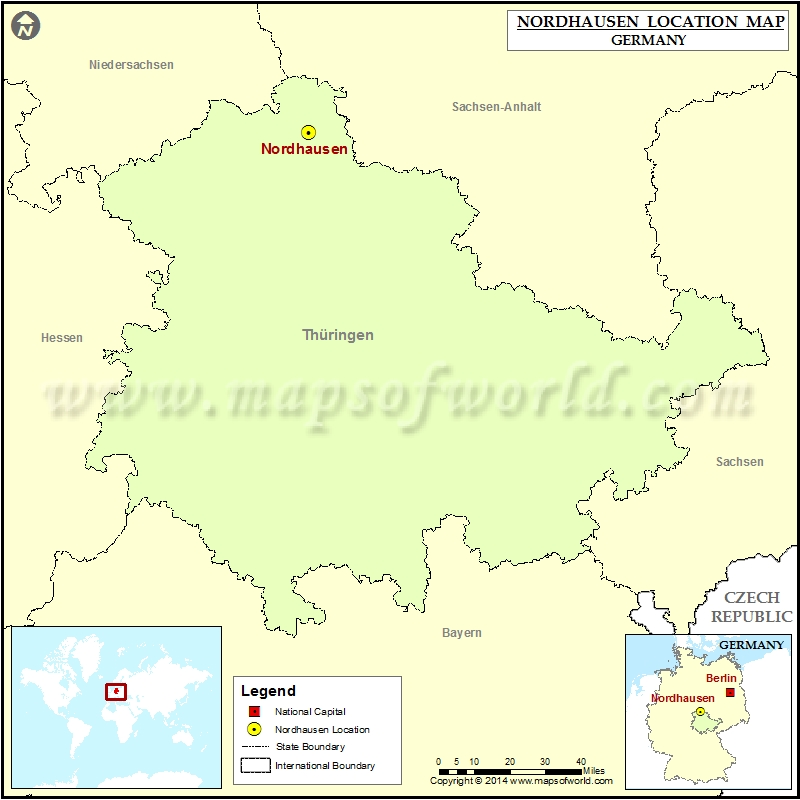 Where is Nordhausen