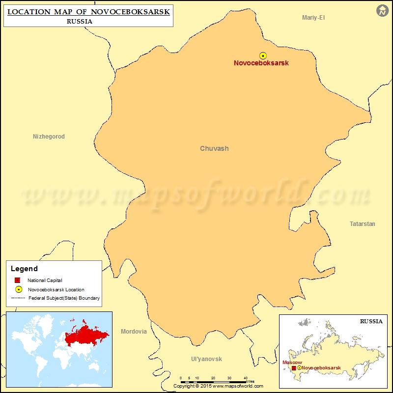 Where is Novoceboksarsk