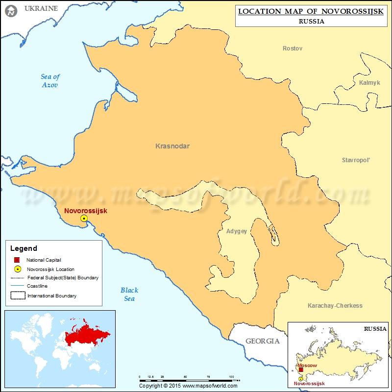 Where is Novorossijsk