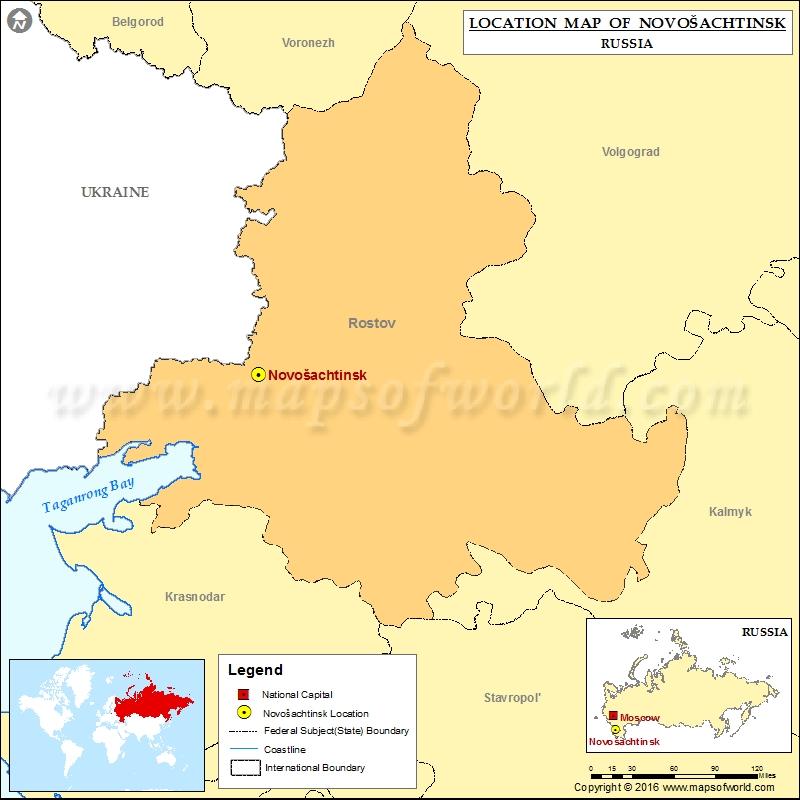 Where is Novosachtinsk