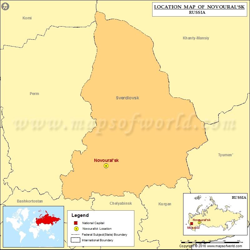 Where is Novouralsk