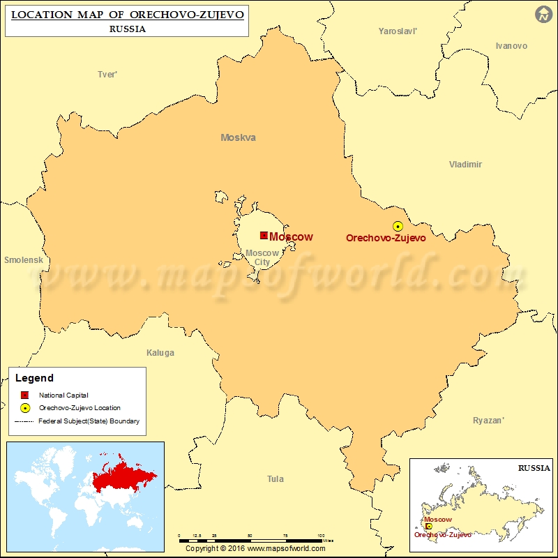 Where is Orechovo-Zujevo