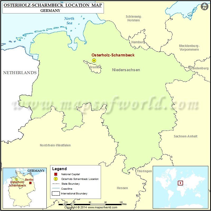 Where is Osterholz-Scharmbeck
