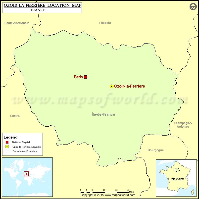 Where is Ozoir-la-Ferriere