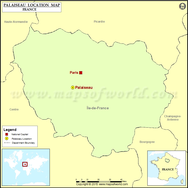 Where is Palaiseau