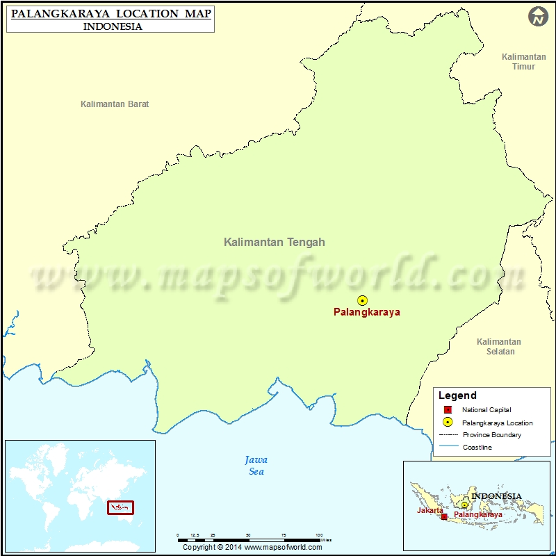 Where is Palangkaraya