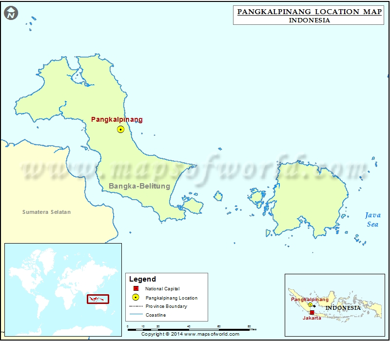 Where is Pangkalpinang