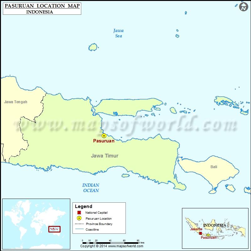 Where is Pasuruan