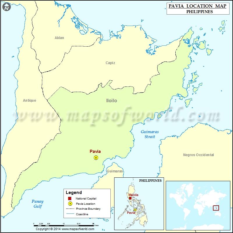 Where is Pavia