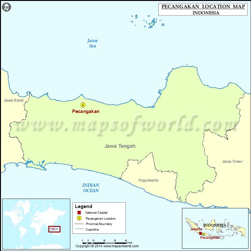 Where is Pecangakan