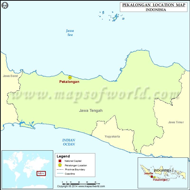 Where is Pekalongan