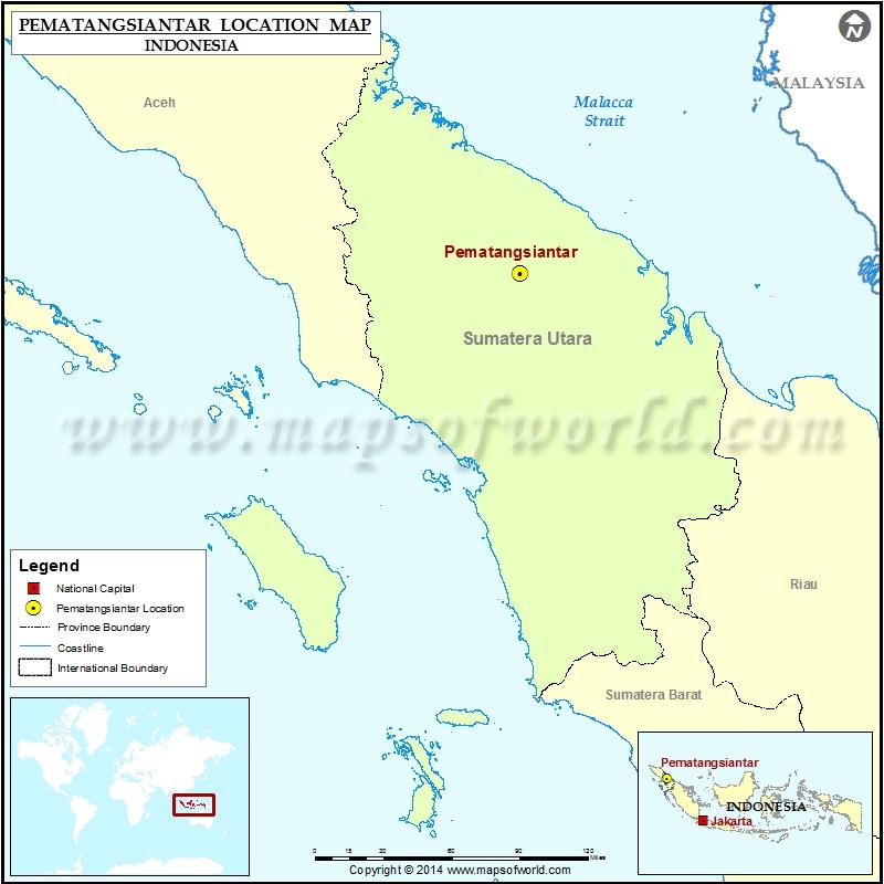 Where is Pematangsiantar