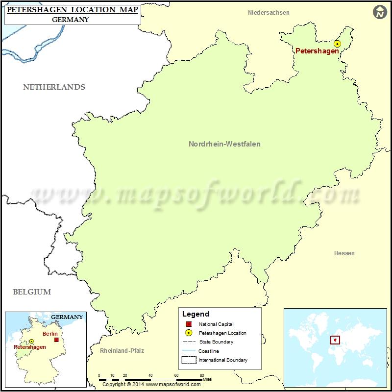 Where is Petershagen