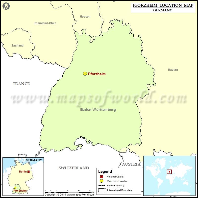 Where is Pforzheim