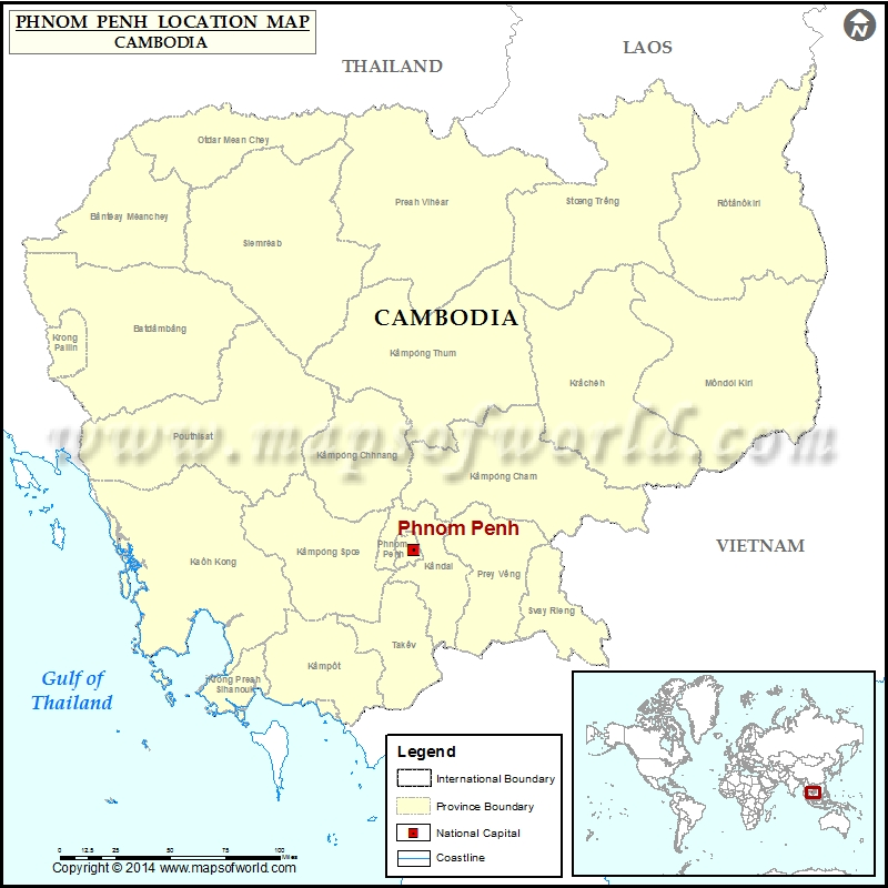 Where is Phnom Penh
