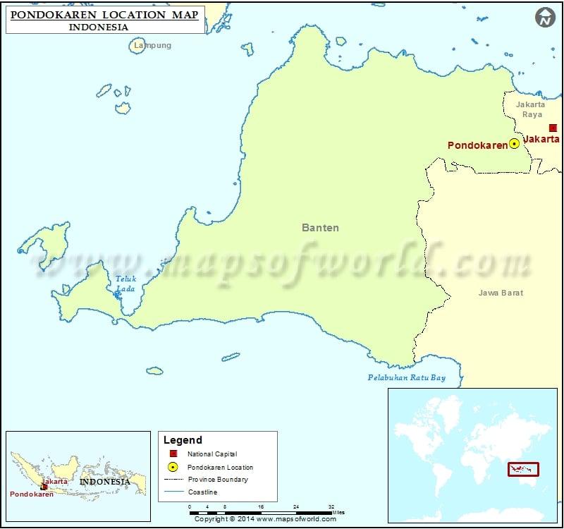 Where is Pondokaren
