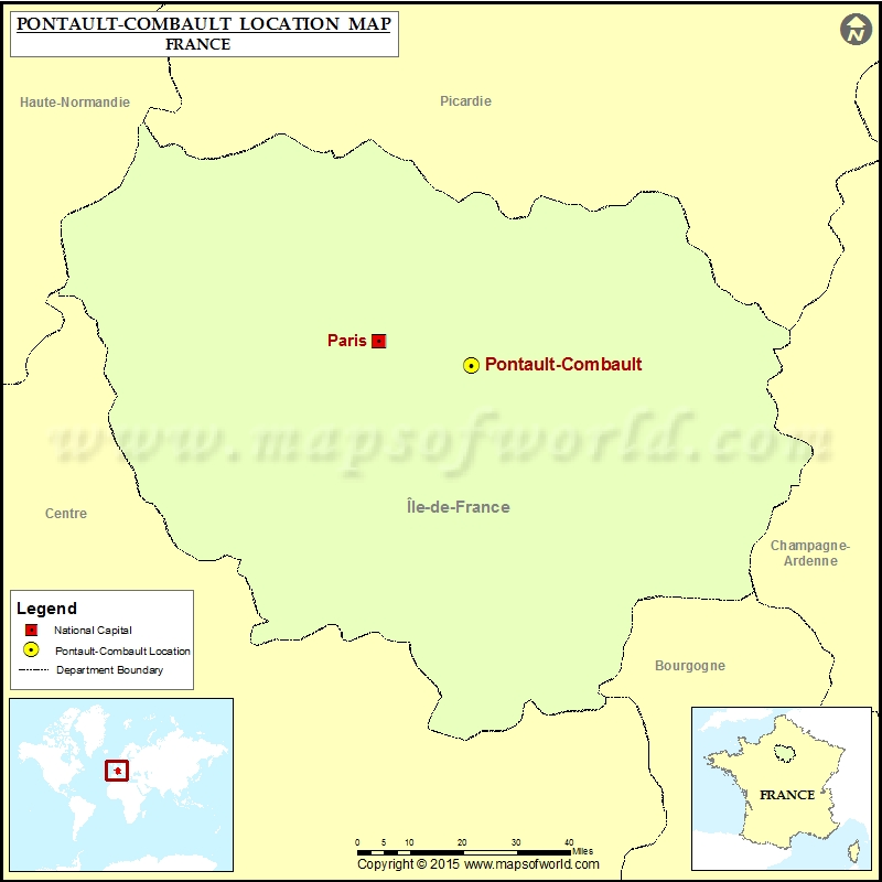 Where is Pontault-Combault