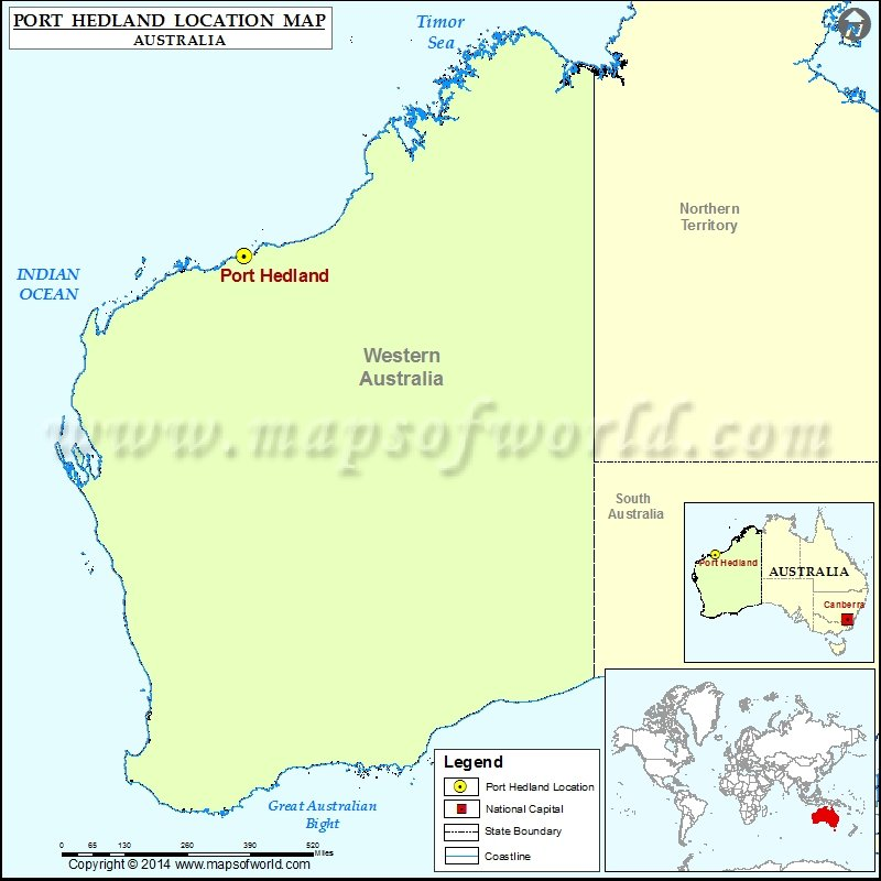 Where is Port Hedland