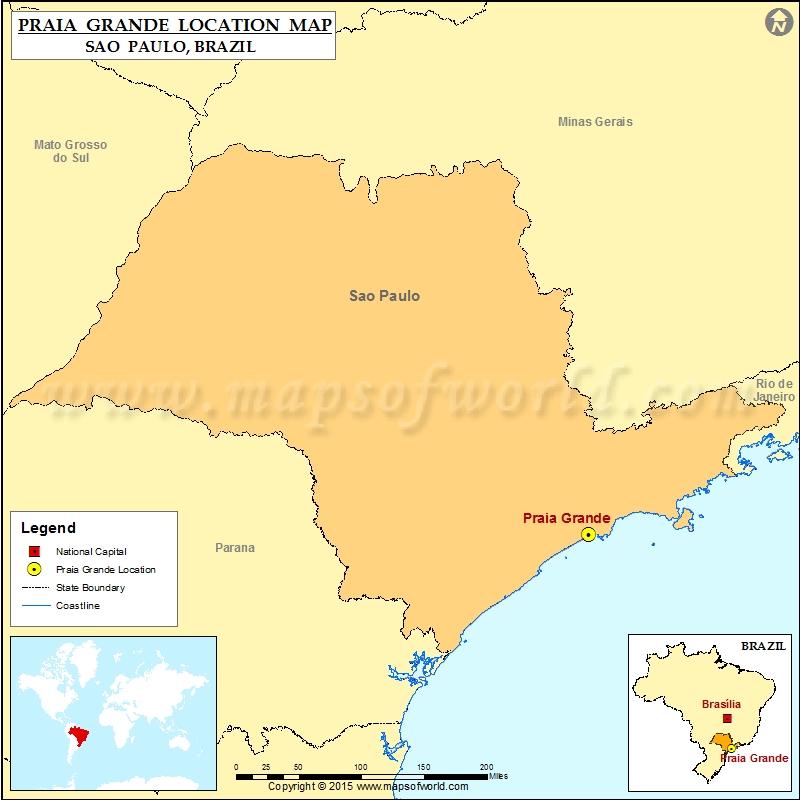 Where is Praia Grande
