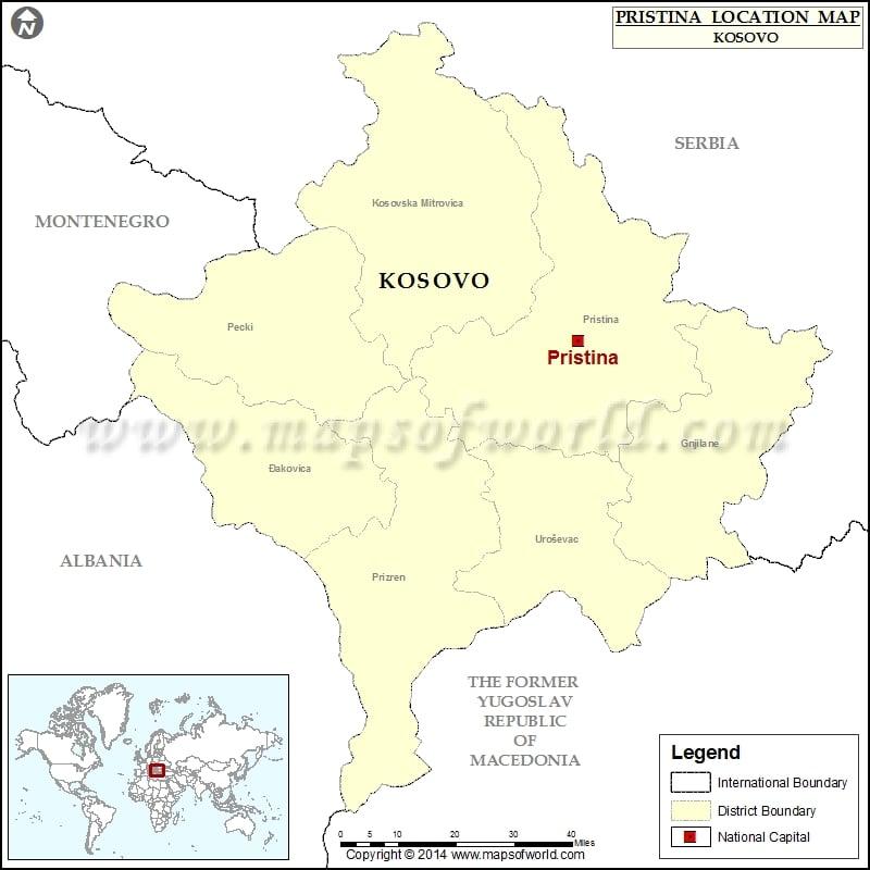 Where is Pristina