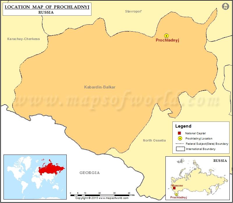 Where is Prochladnyj