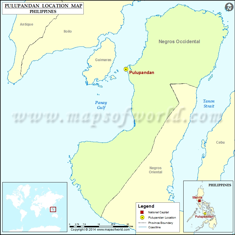 Where is Pulupandan