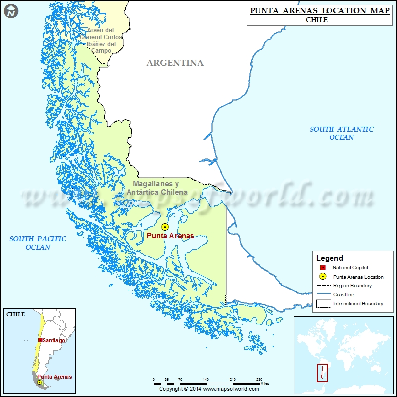 Where is Punta Arenas