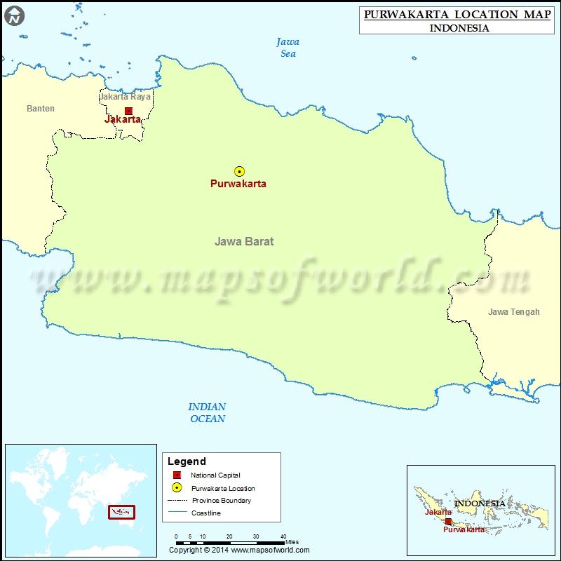 Where is Purwakarta