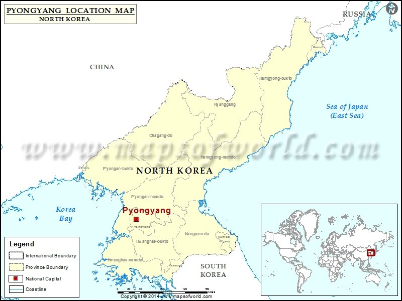 North Korea Island