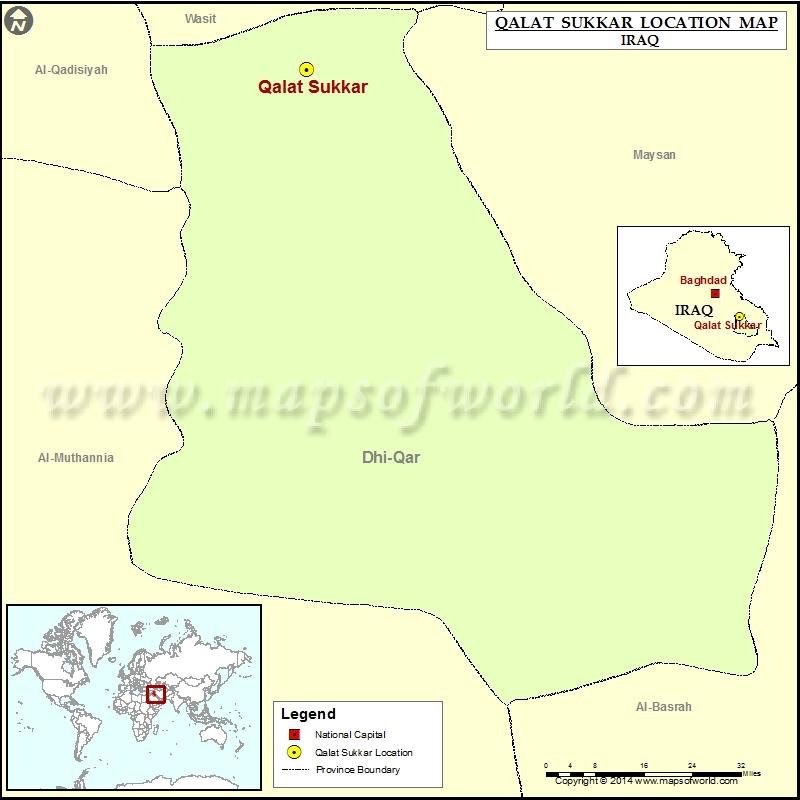 Where is Qalat Sukkar
