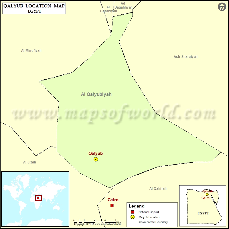 Where is Qalyub