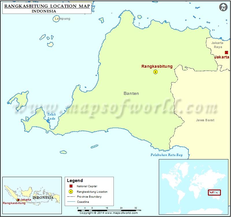 Where is Rangkasbitung
