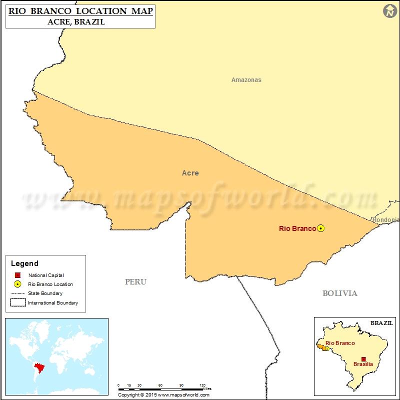 Where is Rio Branco