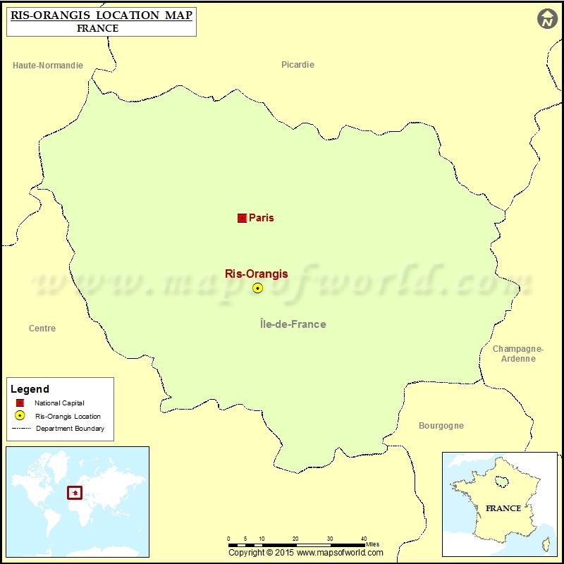 Where is Ris-Orangis