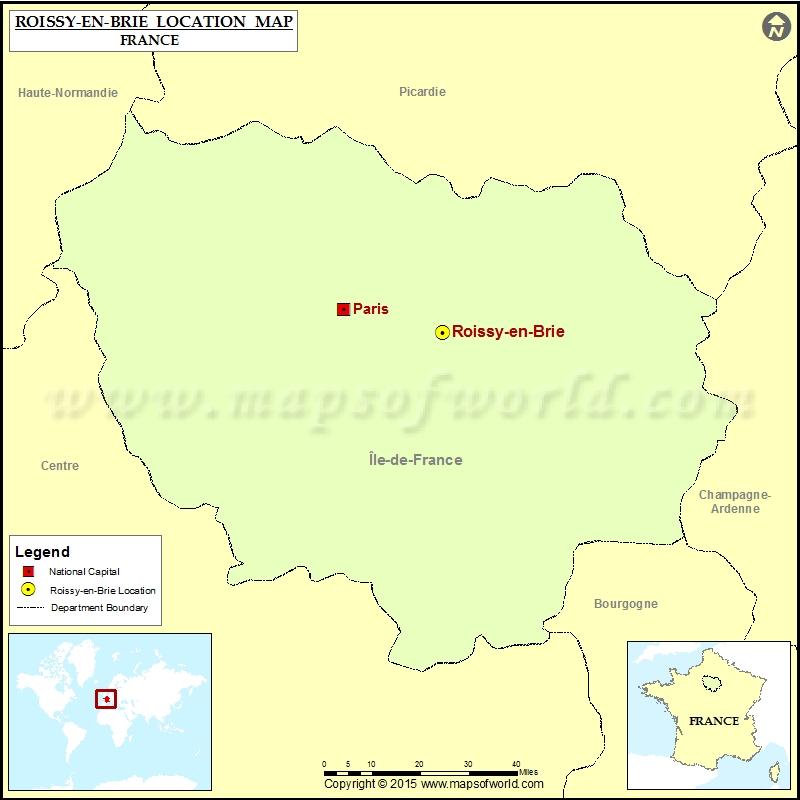 Where is Roissy-en-Brie