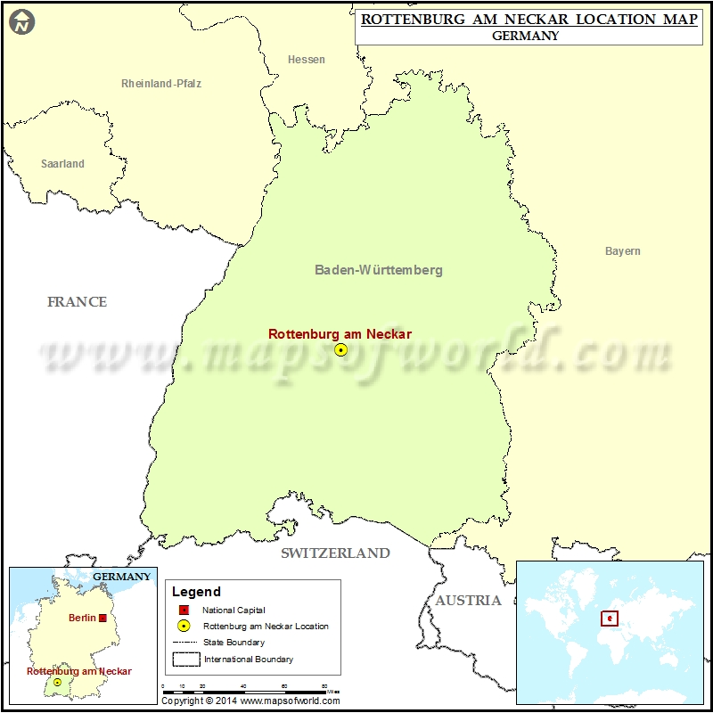 Where is Rottenburg am Neckar