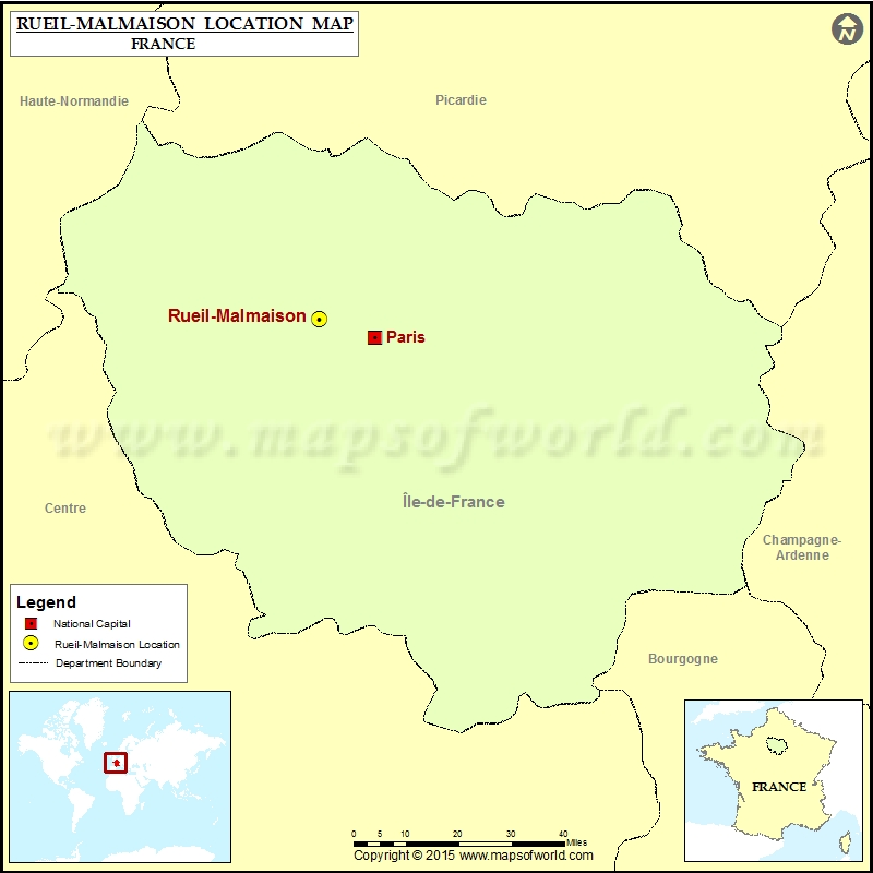 Where is Rueil-Malmaison