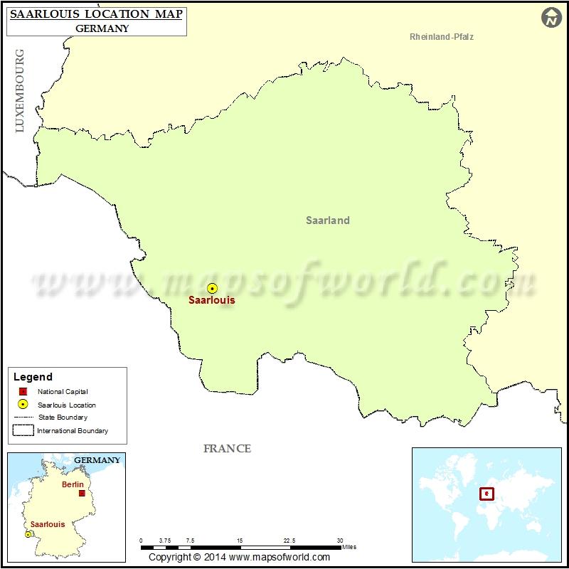 Where is Saarlouis