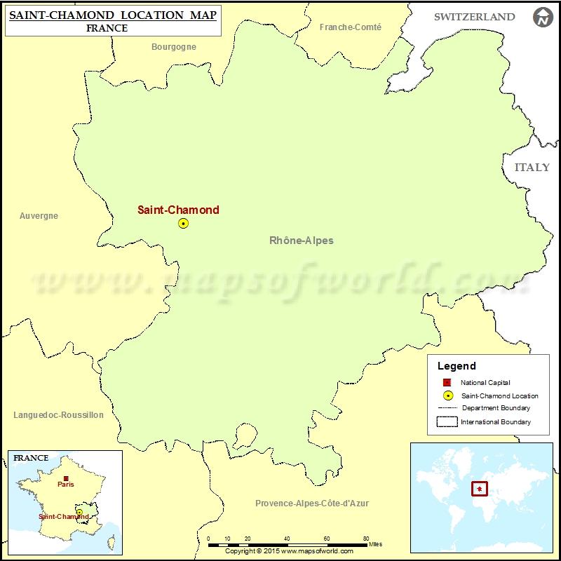 Where is Saint-Chamond