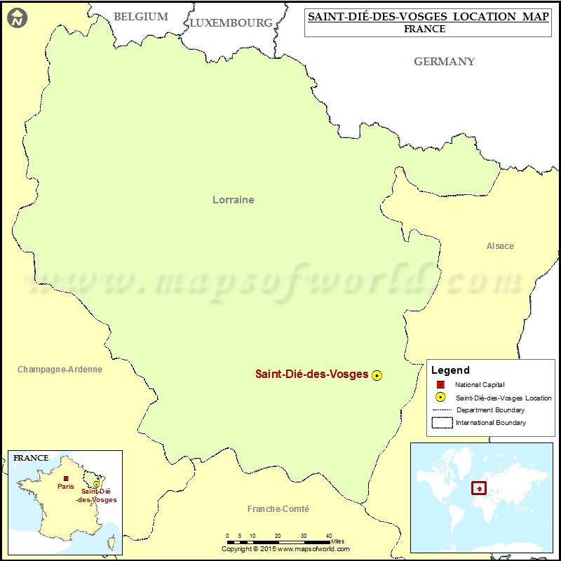 Where is Saint-Die-des-Vosges