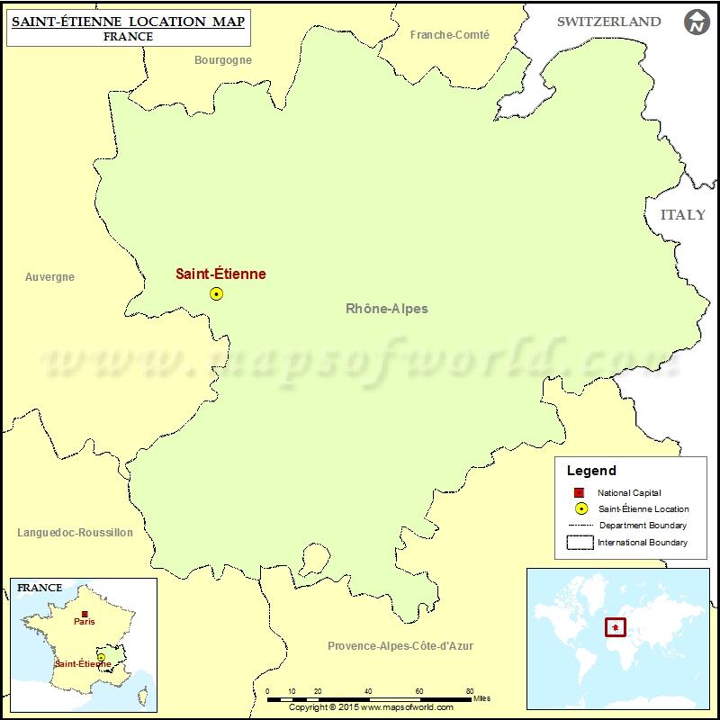 Where is Saint-Etienne