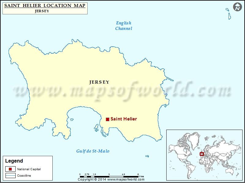 Where is Saint Helier